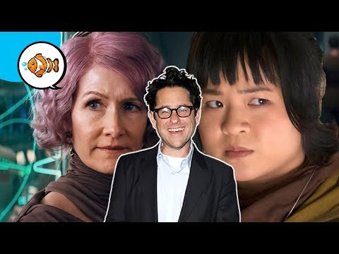 J.J. Abrams says STAR WARS fans HATE Women?!