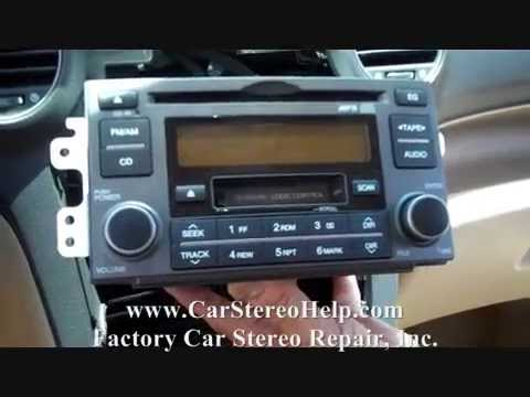 kia rondo stereo removal   youtube