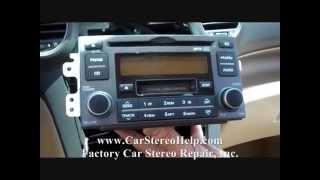 Kia Rondo Stereo Removal 2007 - 2009