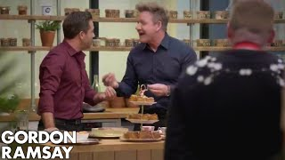 Gordon Ramsay and Gino D'Acampo Do A Blind Taste Test