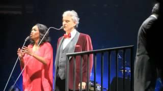 """ANDREA BOCELLI """"CANTO A LA TERRA"""" LIVE 2-14-2014"""