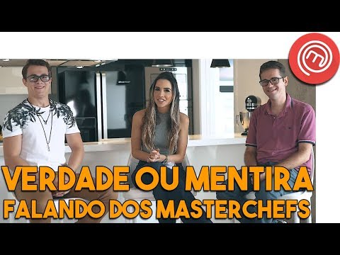 TAG TRUTH OR LIE   With Rui and Aristeu Masterchefs # 98