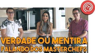 Comentando sobre os participantes do Masterchef 2018 com Rui e Aristeu  #98