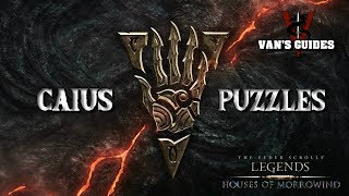 The Elder Scrolls: Legends -All 10 Caius Puzzles Solved