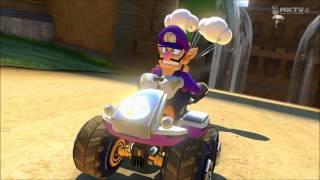 Creepy Luigi death stare #5 [Mario Kart 8]