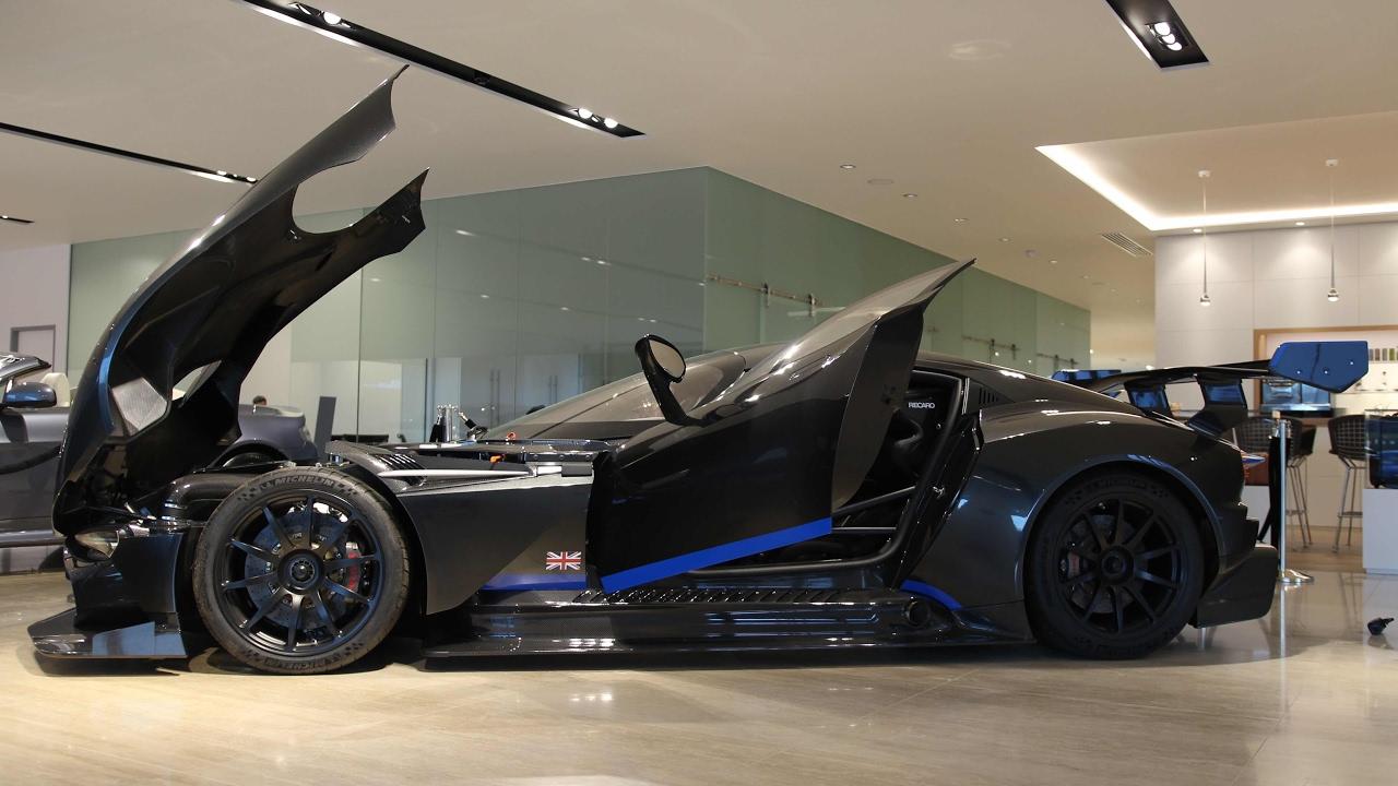 Aston Martin Vulcan Up Close Interior Engine Bay And Exterior Youtube