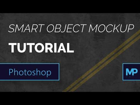 Smart Object Mockup Photoshop Tutorial