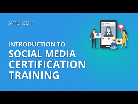 Introduction to Social Media Certification Training