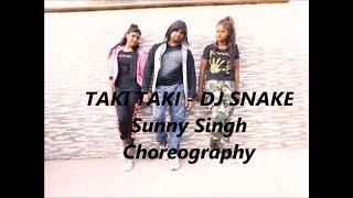 DJ Snake - Taki Taki ft. Selena Gomez, Cardi B, Ozuna - Dance Choreography by  Sunny Singh