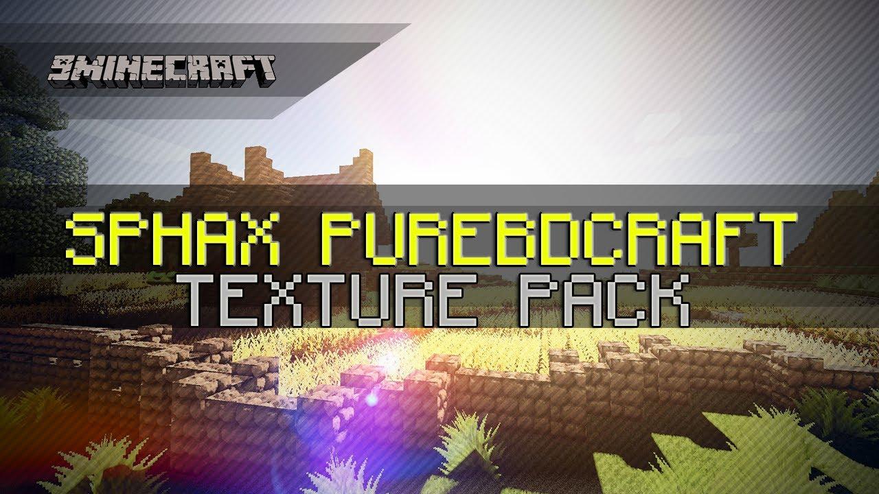 minecraft texture pack sphax purebdcraft 1.6 2