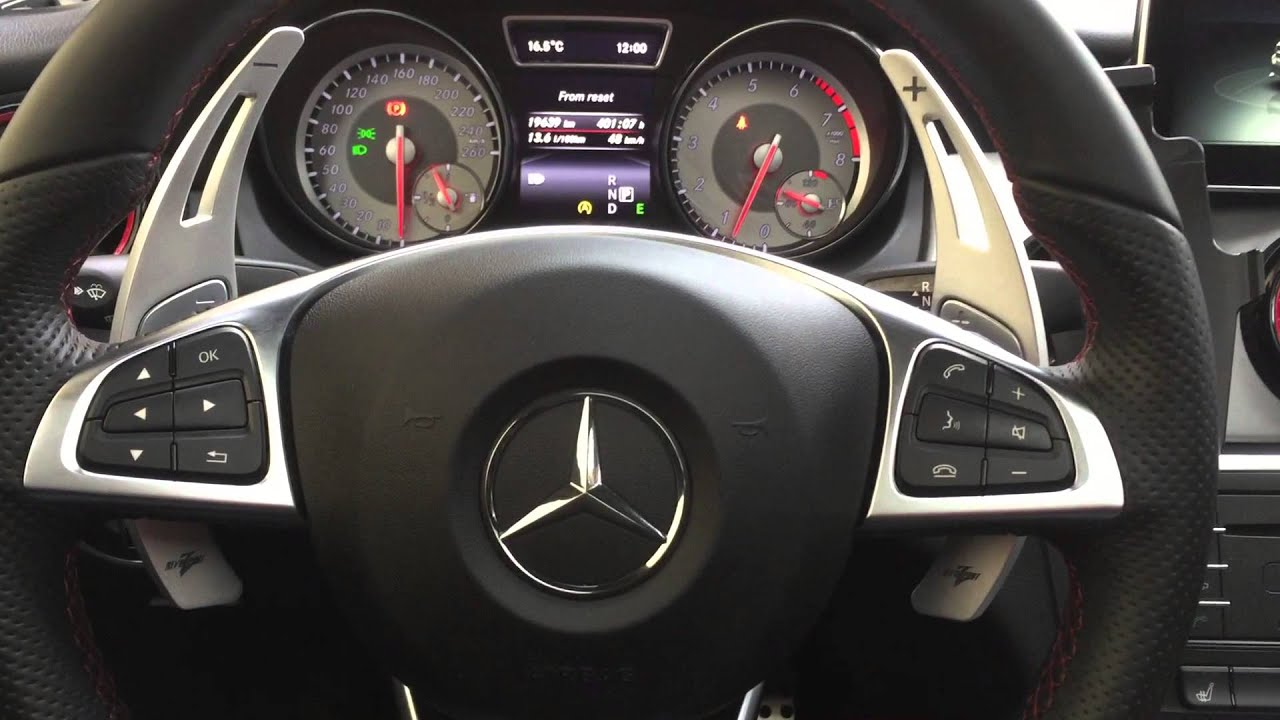 revozport rza paddle shifters for mercedes benz cla 250