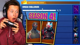 SURPRISING MY LITTLE BROTHER MIT ALL NEW SEASON 4 SKINS IN FORTNITE! | David Vlas