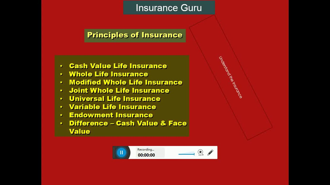 Types of Life Insurance Cash Value, Whole Life, Joint ...