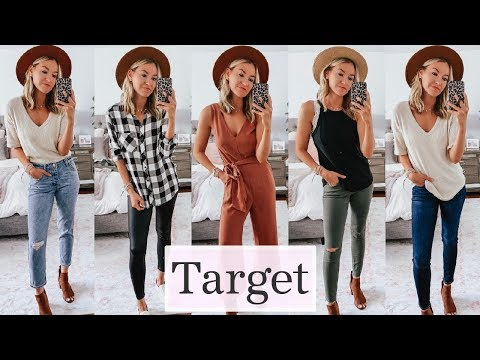 image for Huge Target Try On Haul | Fall 2019 Outfit Ideas