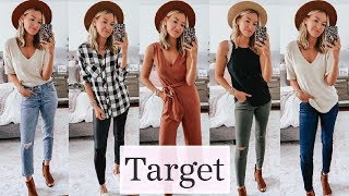 Huge Target Try On Haul | Fall 2019 Outfit Ideas