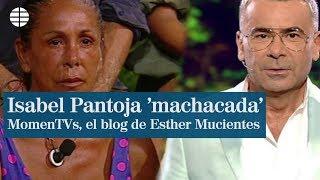 Supervivientes: Isabel Pantoja, 'machacada' por Jorge Javier Vázquez y el robo que no perdonó