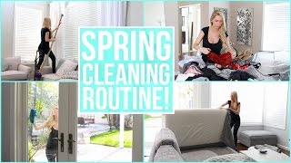 My Spring Cleaning Routine!