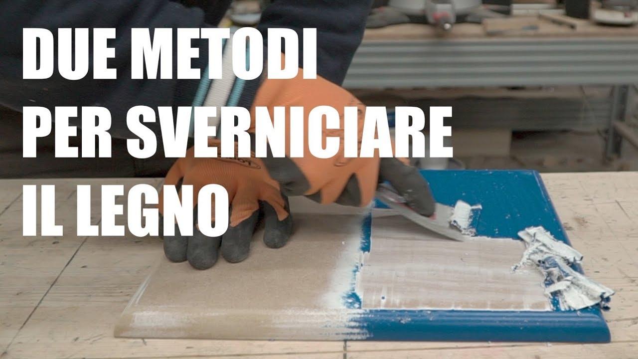 Come Scartavetrare Il Legno come rimuovere la vernice dal legno - levigatrice e sverniciatore chimico.  falegnameria e fai da te.
