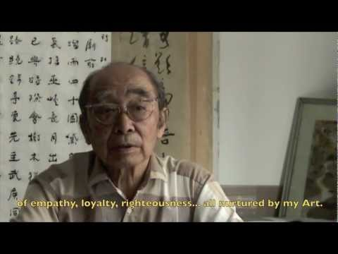 Chinese Lotus Painting and Poetry Demonstration-Yin Fukang  畫家 殷茀康