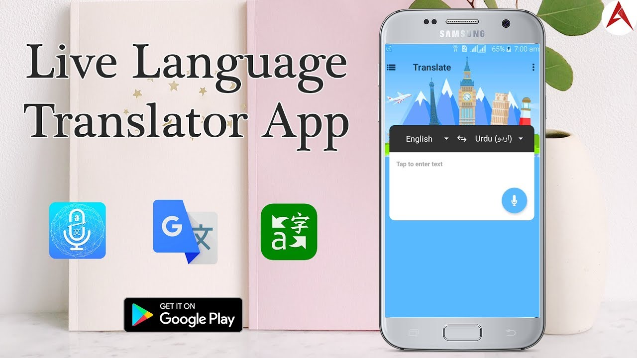 Translate All Speech Text Translator / Speak & translate live voice