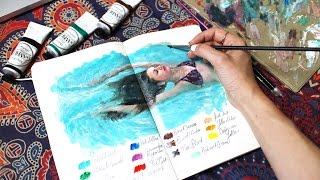 Why I started painting water | Sketchbook Sunday #34