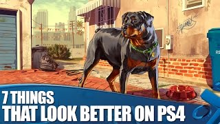 GTA V: 7 things that look better on PS4