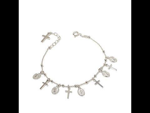 Michael Anthony Jewelry Rosary Charm Bracelet