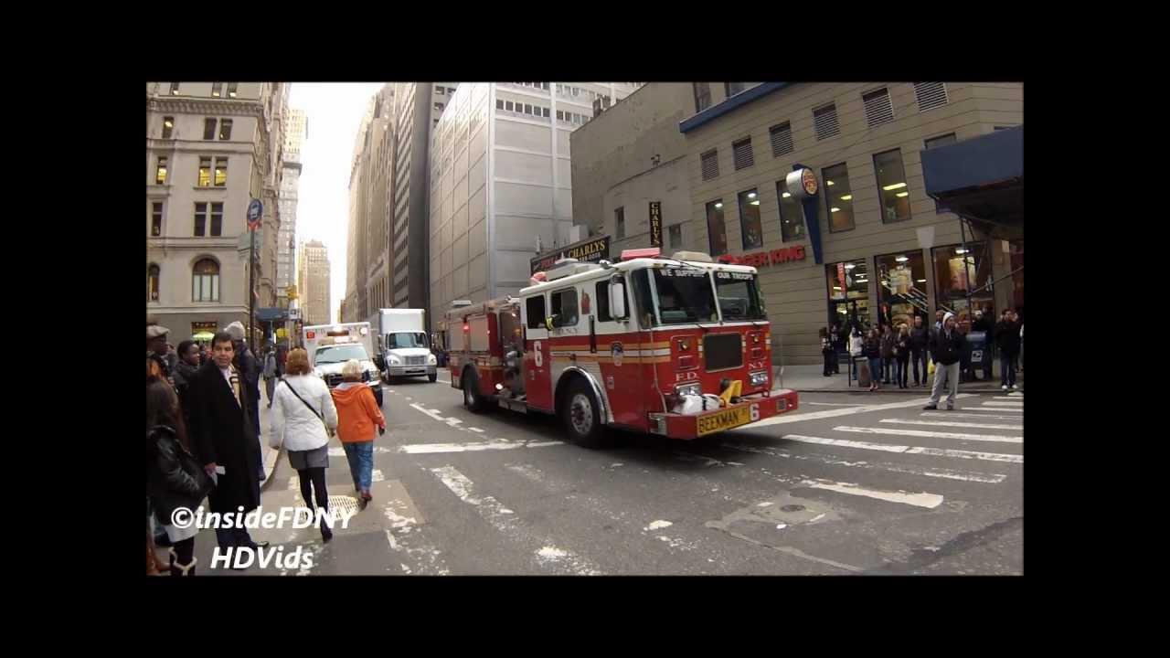 Fdny Hd World Trade Center Fire In Parking Garage