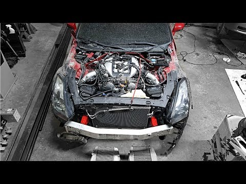 Totaled Nissan GT-R Rebuild - Part 7