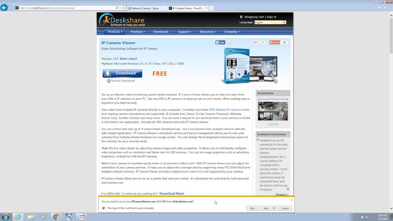 ip camera viewer free