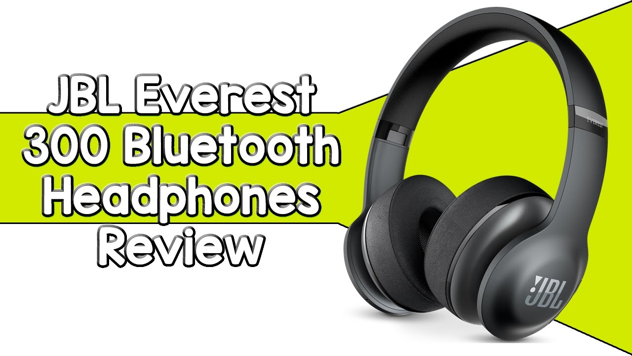 JBL Everest 300 Bluetooth Headphones Review