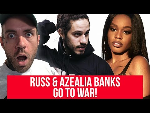 Russ and Azealia Banks are beefing and it's amazing
