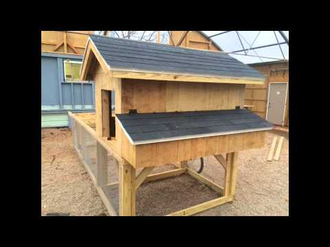 Large Chicken tractor