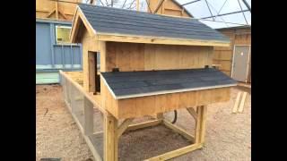 DIY Chicken tractor coop build