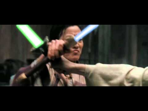 Crouching Tiger, Hidden Dragon with lightsabers