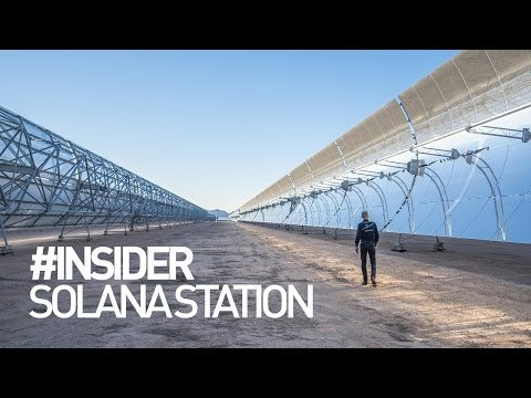 Solar Impulse - Solana Generating Station near Phoenix #INSIDER