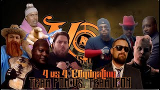 Team Prophets Of Madness vs. Team ICON (No Thanks Given)