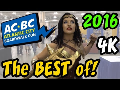 The Best of ACBC 2016 Atlantic City BoardWalk Con East Coast Cosplay Family Event in 4K Ultra HD