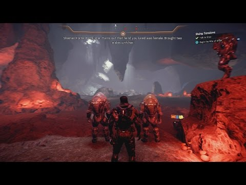 Mass Effect Andromeda - Blind Let's Play Part 60 - Krogan Rite of Union