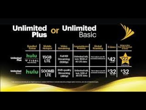 Sprint's Unlimited Basic & Unlimited Plus OFFICIAL Starting July 13th
