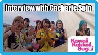 Becca interviews Gacharic Spin, one of the awesome bands that playe...