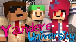 First Day | Yandere University [S1: Ep.1 Minecraft Roleplay Adventure]