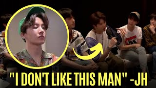 BTS Jhope Proved How Intimidating he is when the translator is not doing his job