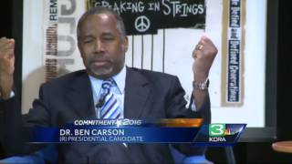 Gop Presidential Hopeful Visits Sacramento, Advocates Self-dependence