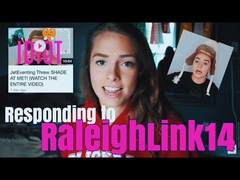 re: JETeventing Threw SHADE AT ME?! || RaleighLink14