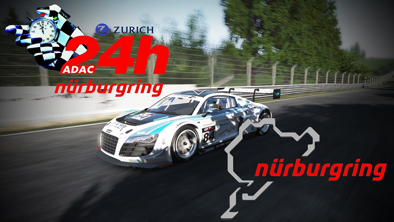 Project Cars 24h Rennen N 252 Rburgring Audi R8 Lms Ultra