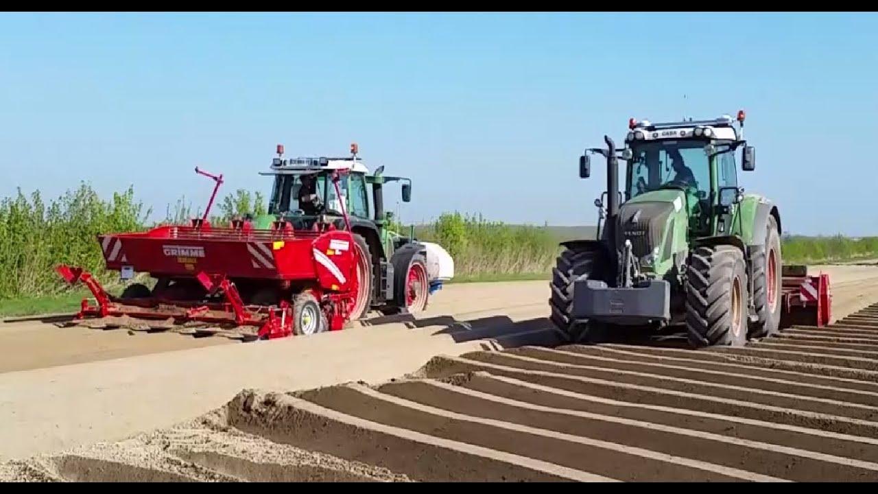 La plantation de pommes de terre youtube - Planter des pommes de terre ...