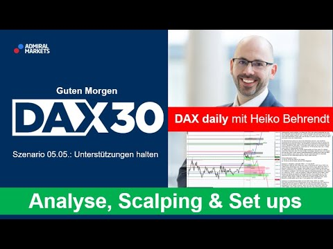 DAX aktuell: Analyse, Trading-Ideen & Scalping | DAX 30 | CFD Trading | DAX Analyse | 05.05.2020