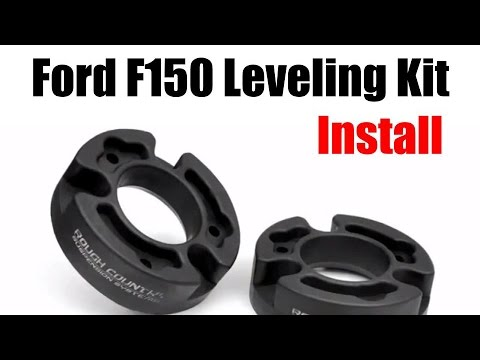 Ford F Leveling Kit Installation Rough Country Tutorial And Review Sd Truck Springs