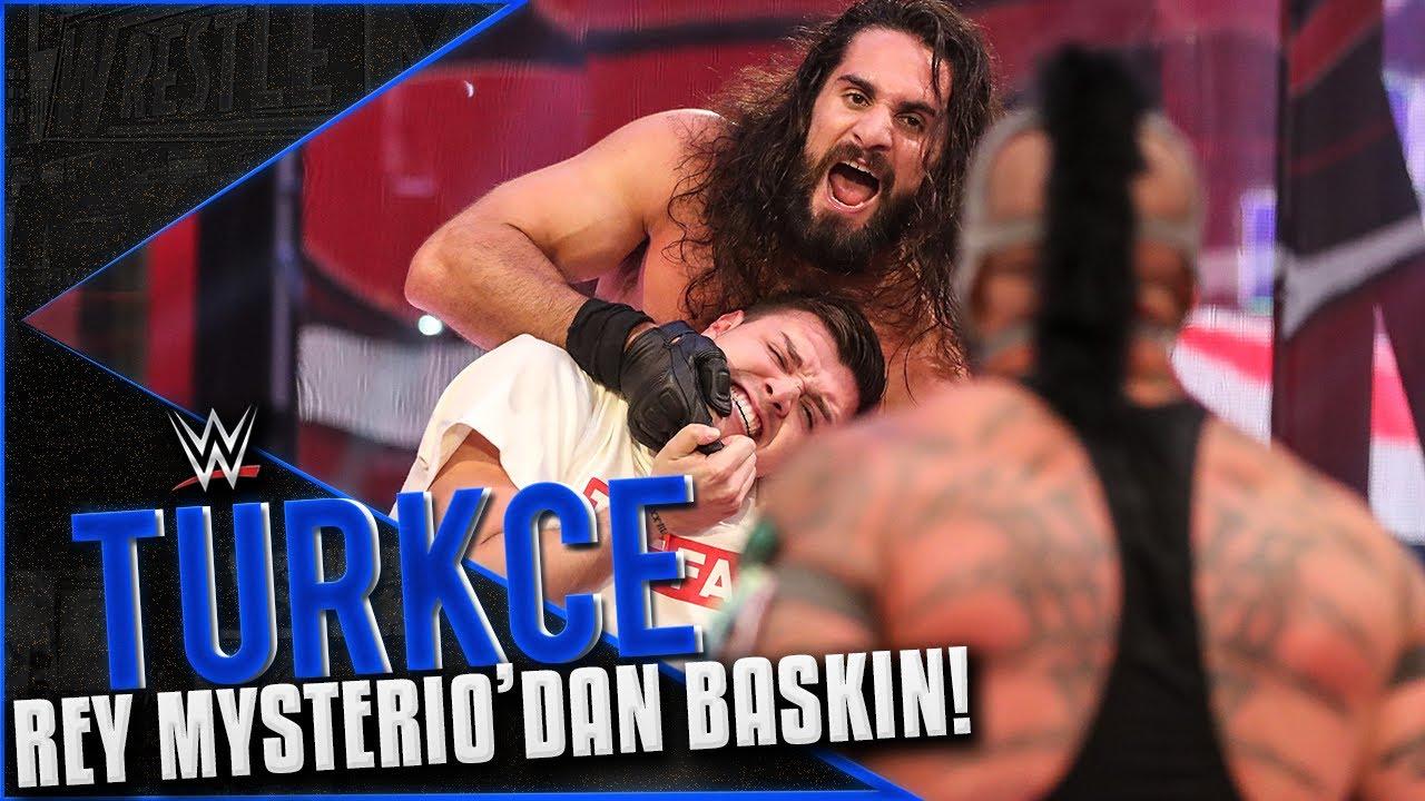 RAW Türkçe Çeviri | Rey MySterio, Rollins'i BASTI!!! OĞLU İLE BERABER SALDIRDI!!